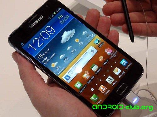 Samsung Galaxy Note - Android зверь с 5,3-дюймовым экраном