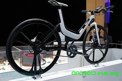 Концепт E-Bike от компании Ford подружился с Samsung Galaxy S II.