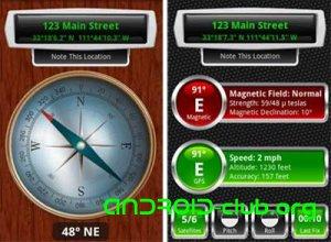 Обзор Android-приложения Compass
