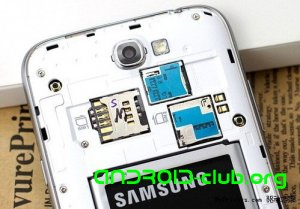 Samsung Galaxy Note II с двумя sim-картами