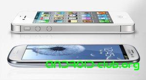 iPhone 4S и Samsung GALAXY S3